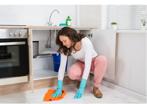 cleaning services - stain removal